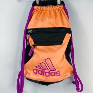 Adidas Drawstring Backpack with Pockets